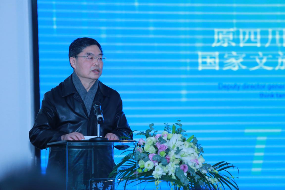 6、原四川省文化厅副厅长李兆泉。
