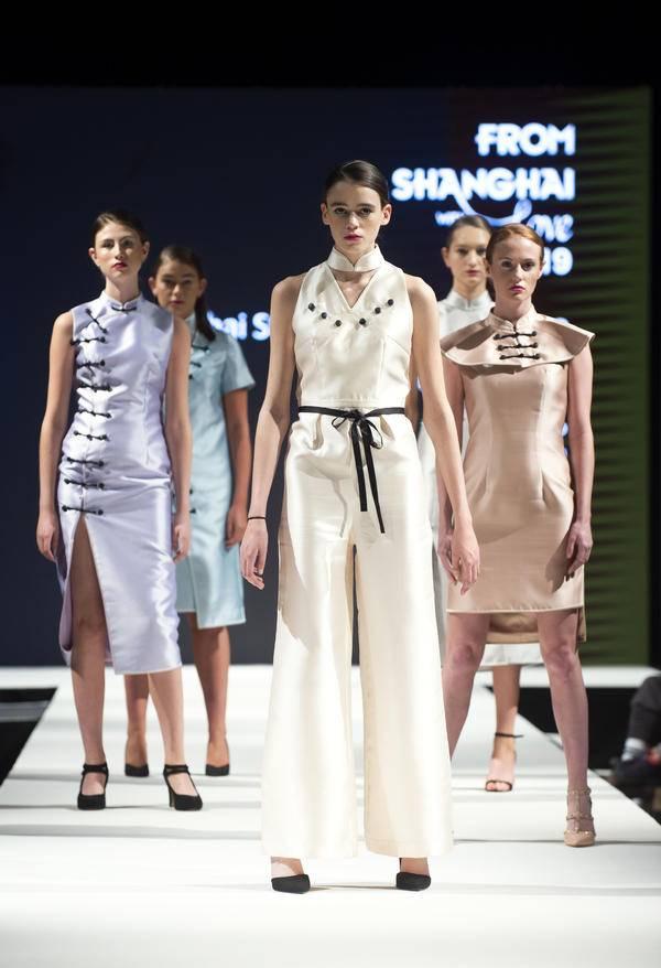 """""""上海品牌""""助力""""上海设计"""",科技旗袍再现爱丁堡"""