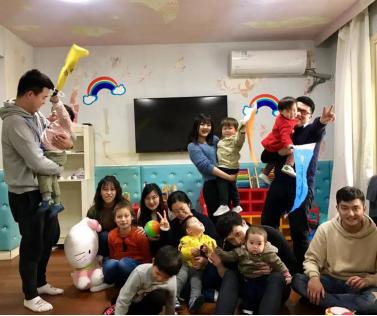 开联通支付:探访上海宝贝之家,送温暖献爱心