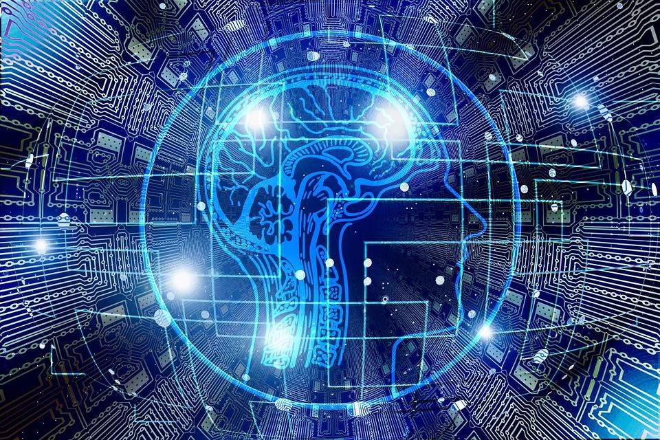 人工智能, 脑, 认为, 控制, 计算机科学, 电气工程, 技术, 开发人员, 计算机, 男子, 智能