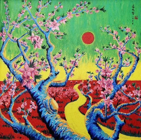 中国油画界的色彩大师——画家李文特
