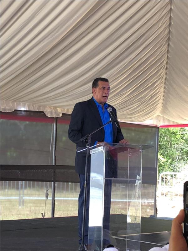 河南五建建设集团牙买加莱恩公园住房开发项目开工仪式隆重举行