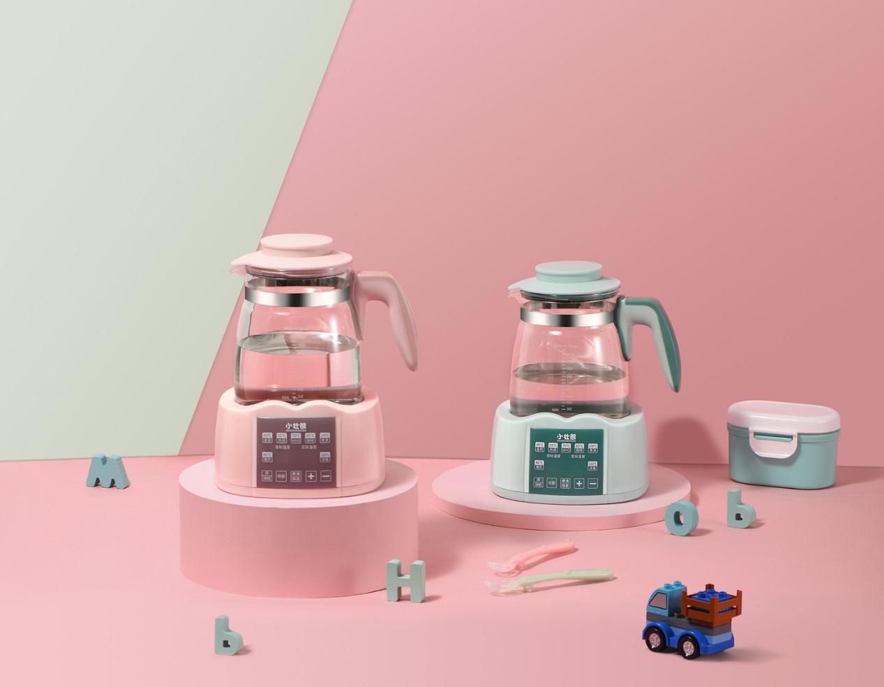 小壮熊突破场景局限,做年轻父母第一台调奶器