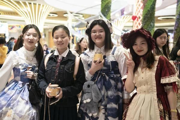 Lolita遇上极小仙 小众文化邂逅全民养生